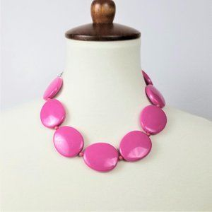 Jewelry - Hot Pink Large Orb Necklace